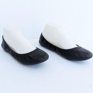 Lucky Brand Black Ballet Slipper Shoes
